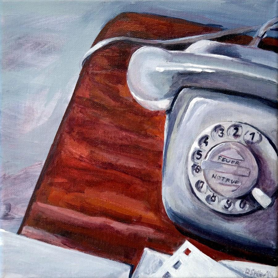 """0892 8-minute-pulsing"" original fine art by Dietmar Stiller"