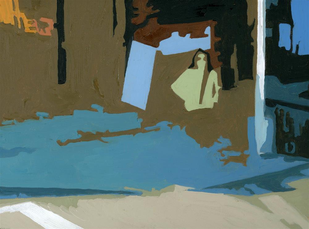 """SUNGLASSES"" original fine art by Nancy Herman"