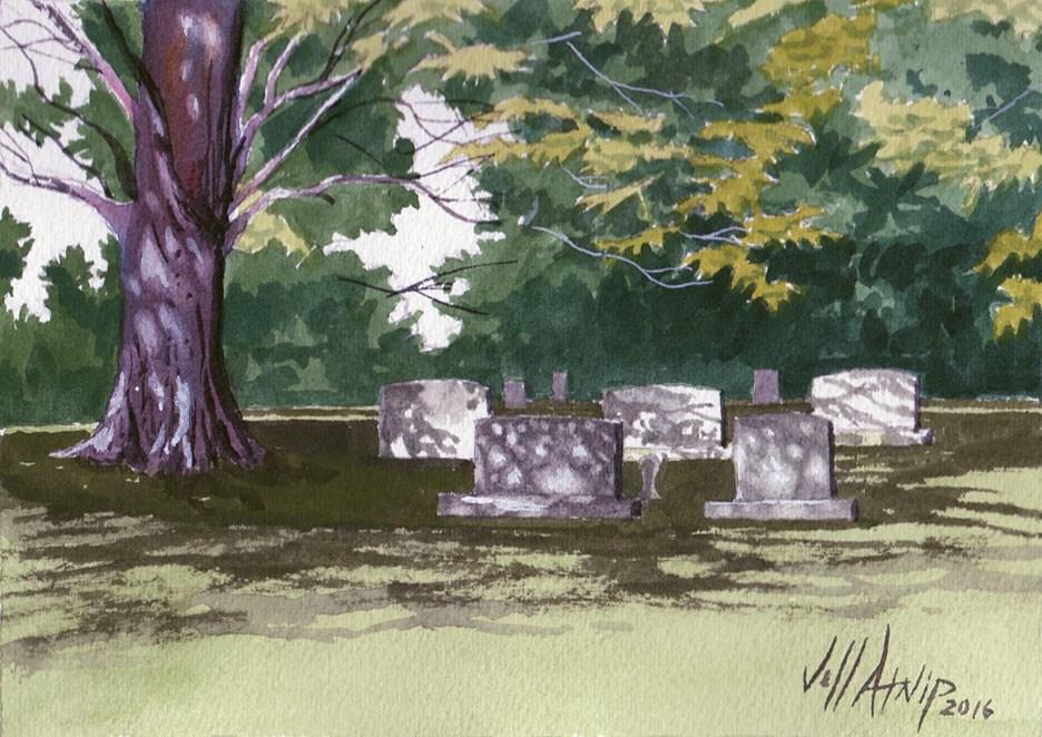 """My Ancestors"" original fine art by Jeff Atnip"