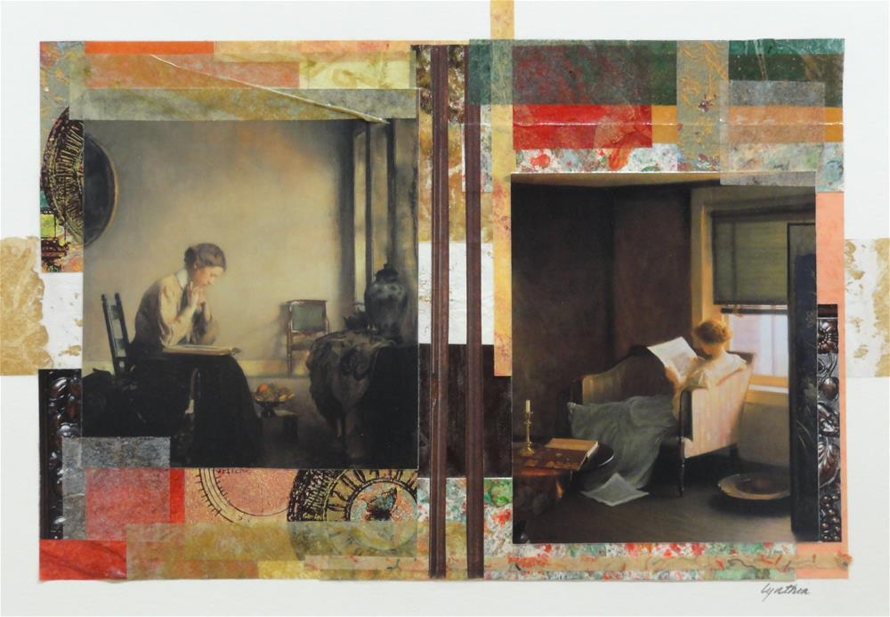 """Women Who Read 5"" original fine art by Cynthia Frigon"