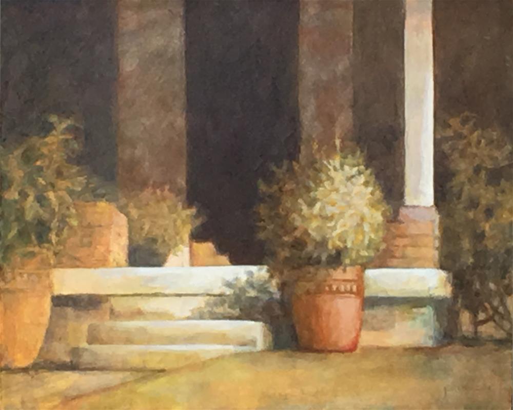 """""""Ingresso"""" original fine art by Robyn Jorde"""