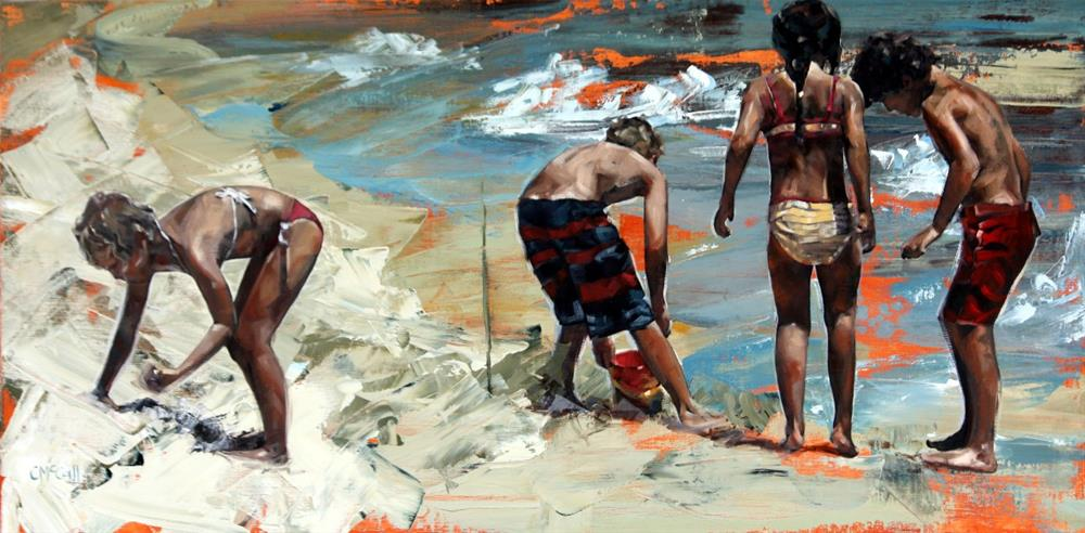 """Summer Days II"" original fine art by Claire McCall"