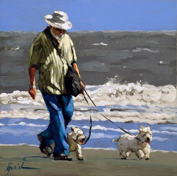 """Shore Patrol"" original fine art by Karin Jurick"