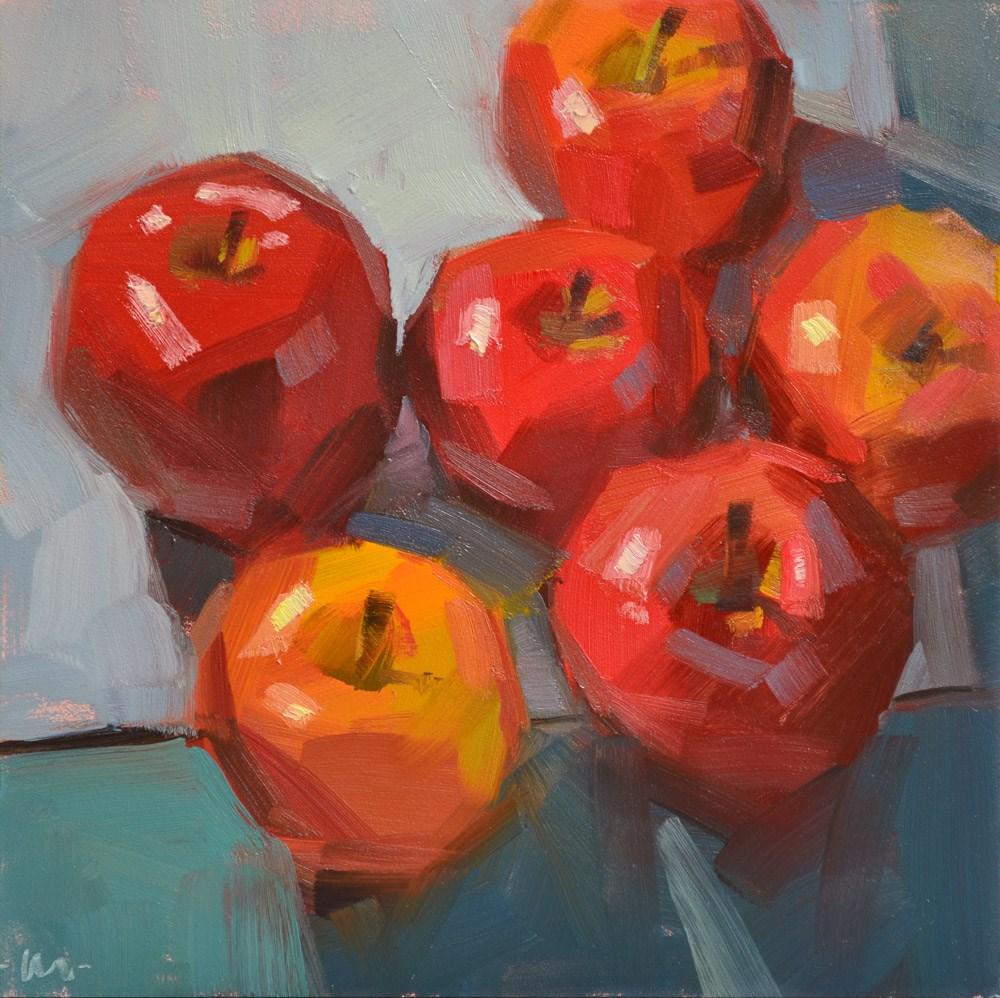 """""""Crowded Corner"""" original fine art by Carol Marine"""