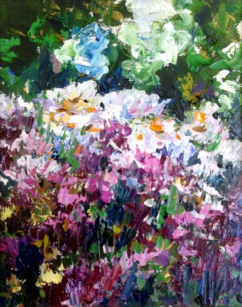 """Garden Love"" original fine art by Cathy Boyd"