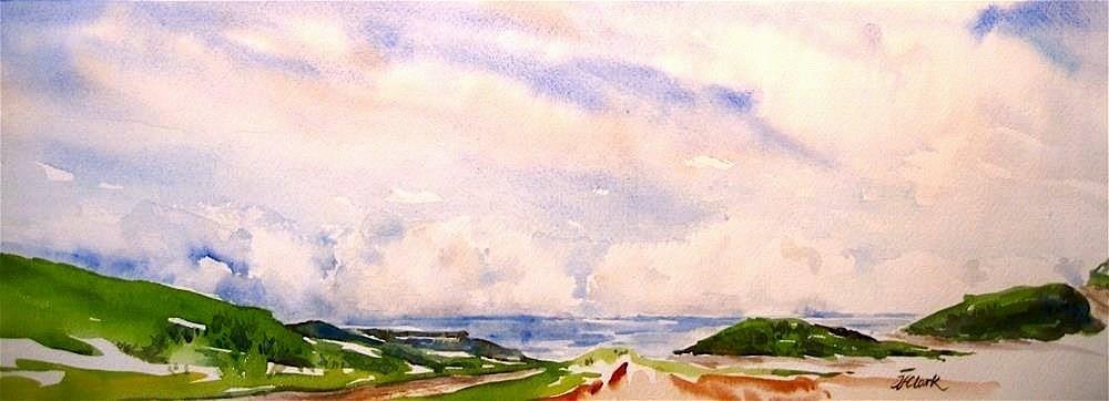 """Bay Watch"" original fine art by Judith Freeman Clark"