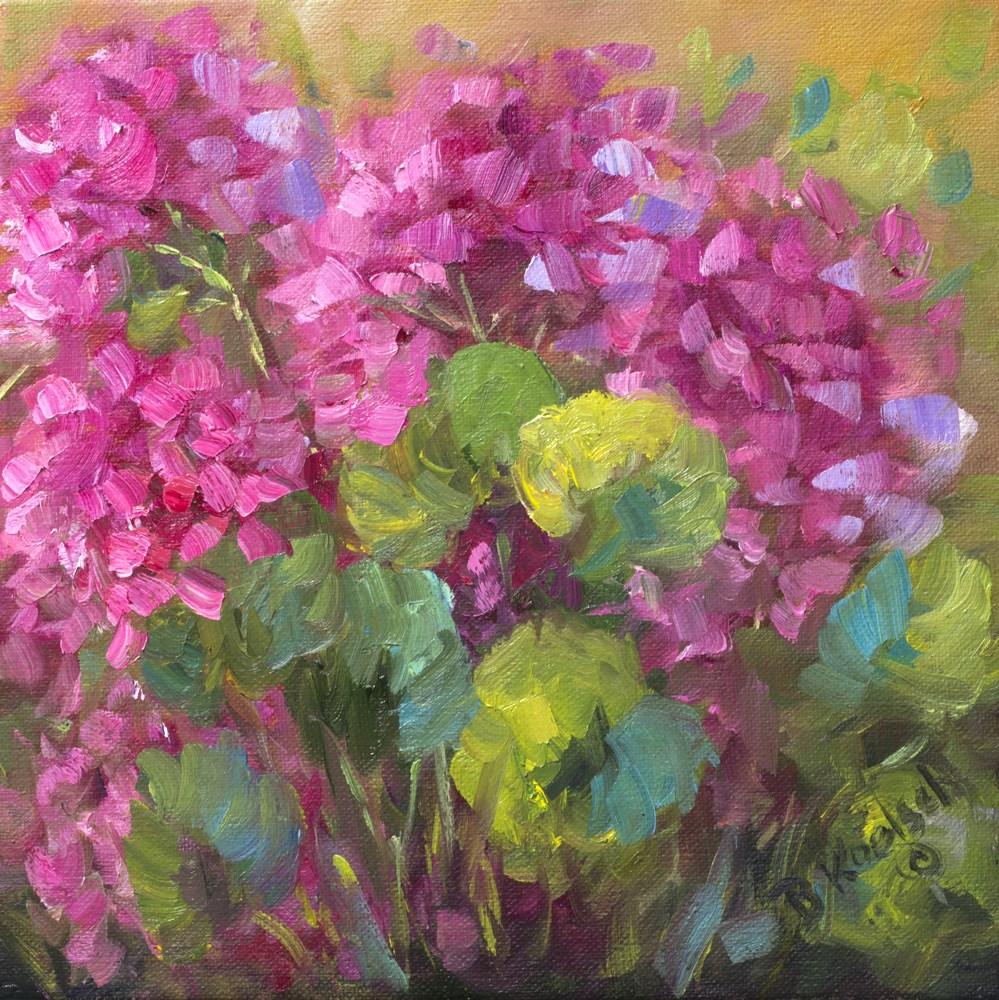 """""""Surprises in My Garden"""" original fine art by Bobbie Koelsch"""