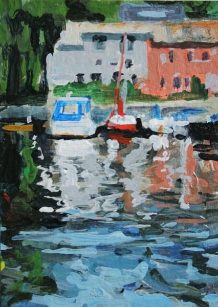 """""""Seneca Lake"""" original fine art by Chris Breier"""