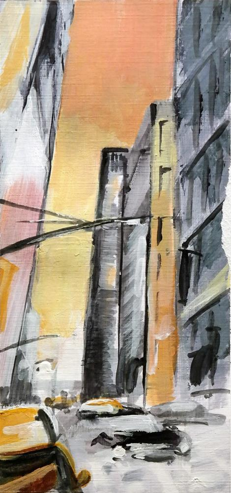 """2709 NYC Quicky 1"" original fine art by Dietmar Stiller"