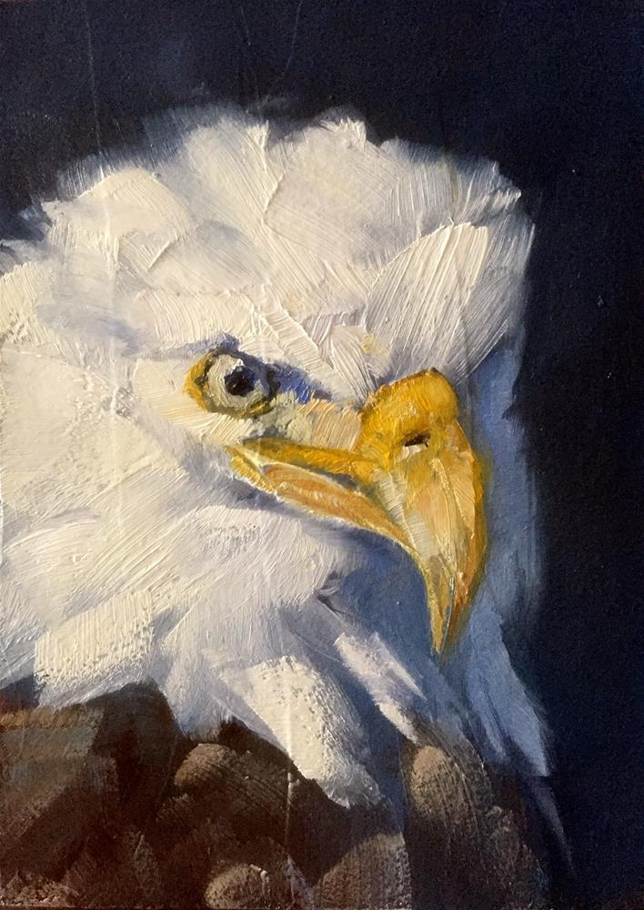 """Bald Eagle"" original fine art by Gary Bruton"