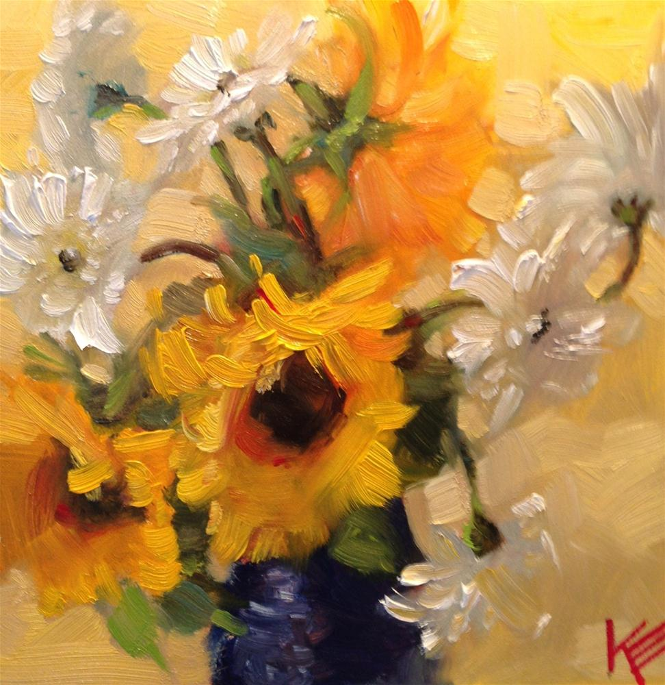 """""""Bright Thoughts"""" original fine art by Krista Eaton"""