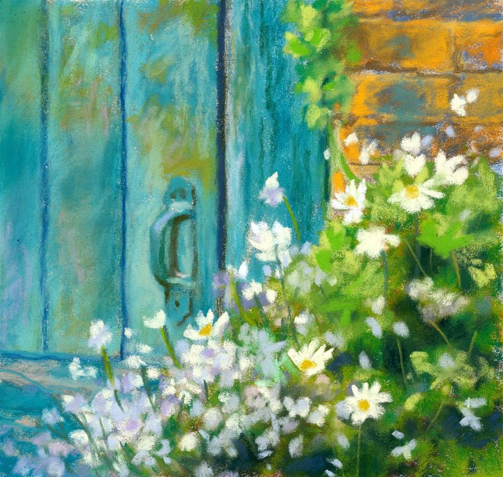 """Shed and Companions"" original fine art by Christine Derrick"