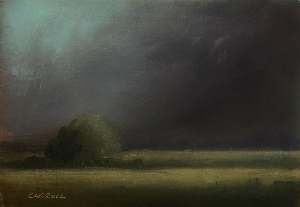 """""""Heavy Weather"""" original fine art by Neil Carroll"""