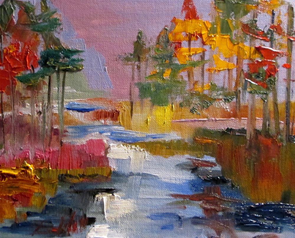 """""""Cascade"""" original fine art by Delilah Smith"""