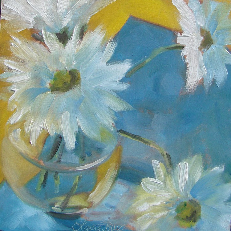 """""""Everything is Coming Up Daisies 440"""" original fine art by Laura  Buxo"""