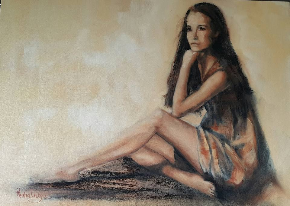 """Her father's pride"" original fine art by Rentia Coetzee"
