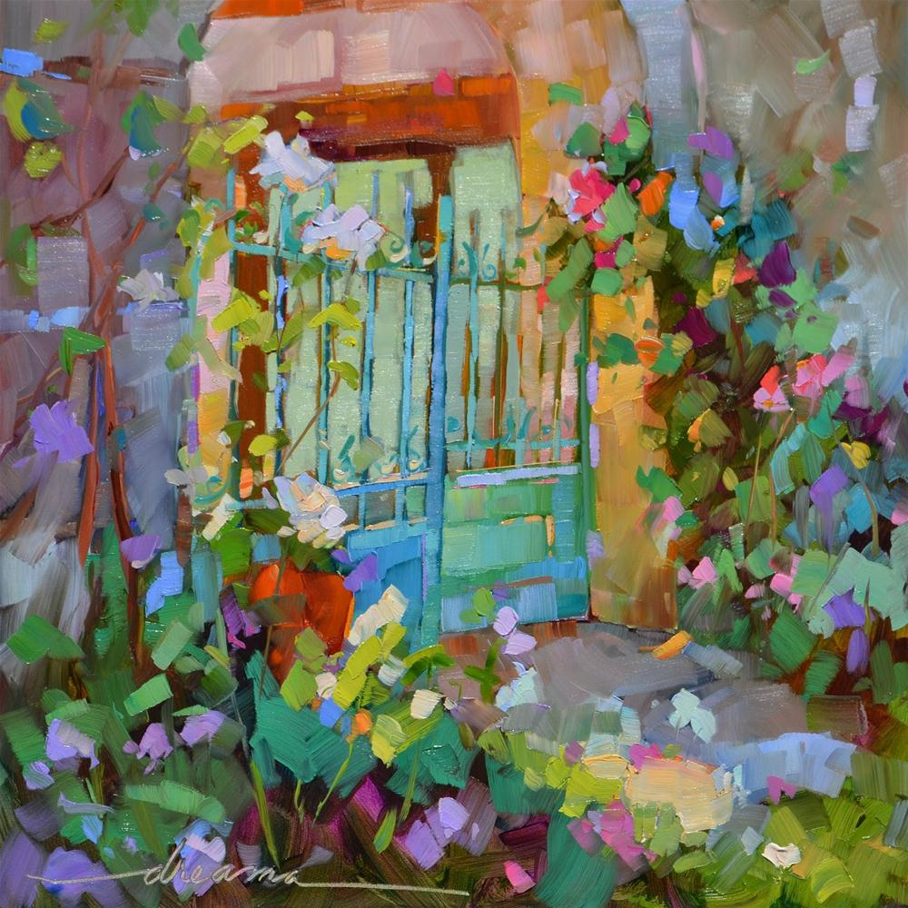 """""""Joy in the Morning"""" original fine art by Dreama Tolle Perry"""