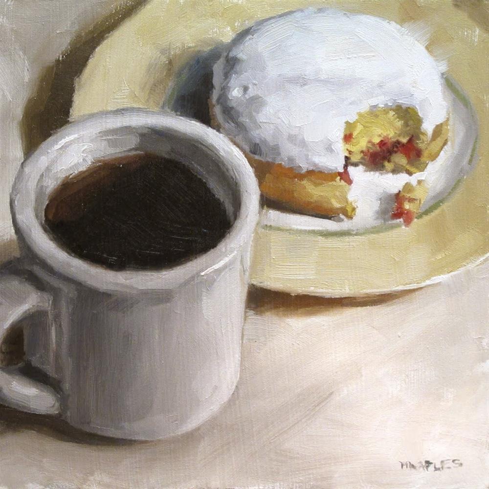 """Sunday Breakfast"" original fine art by Michael Naples"