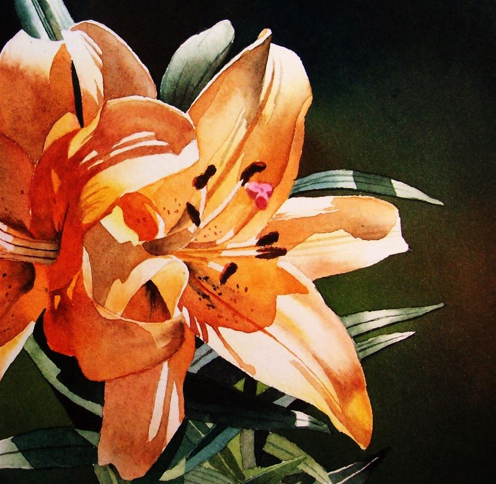 """""""Thirty Paintings in Thirty Days ~ Day 25"""" original fine art by Jacqueline Gnott, TWSA, WHS"""