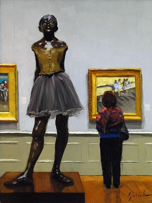 """Degas"" original fine art by Karin Jurick"