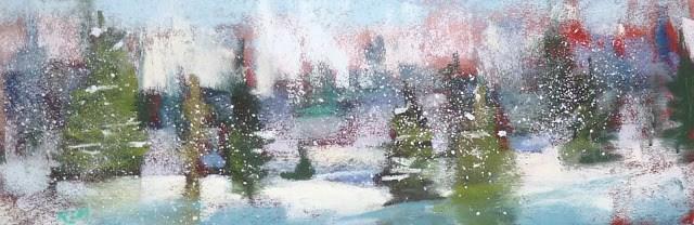 """Peace and Joy!"" original fine art by Karen Margulis"
