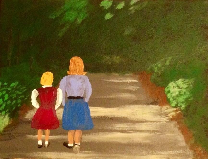 """Memories"" original fine art by Brenda Smith"