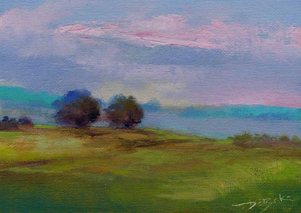 """morning"" original fine art by Mark DeBak"