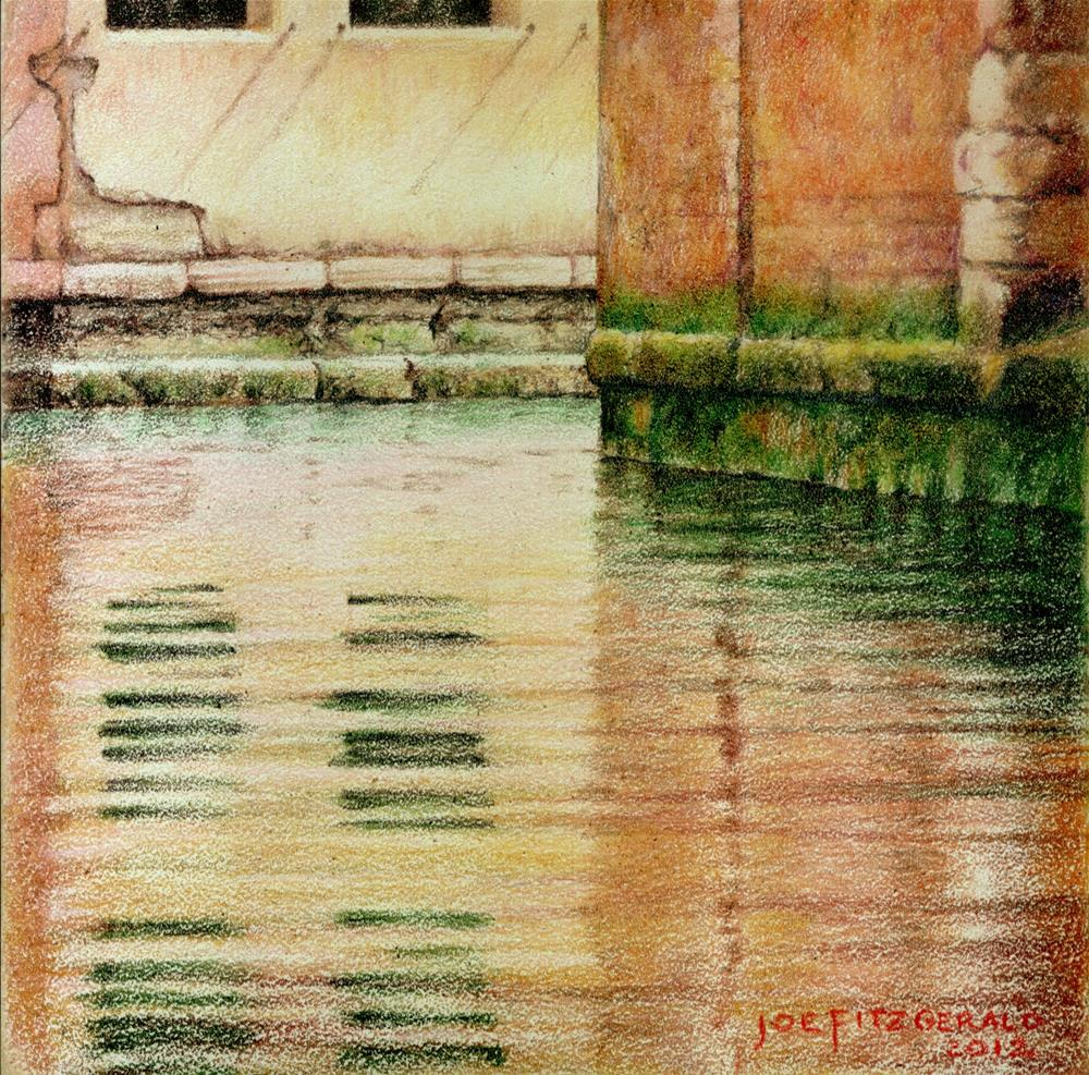 """From A Gondola IV"" original fine art by Joe Fitzgerald"