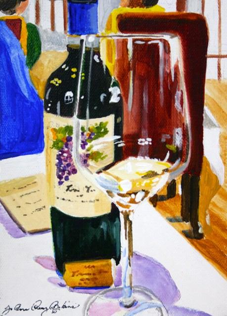 """The Splurge"" original fine art by JoAnne Perez Robinson"