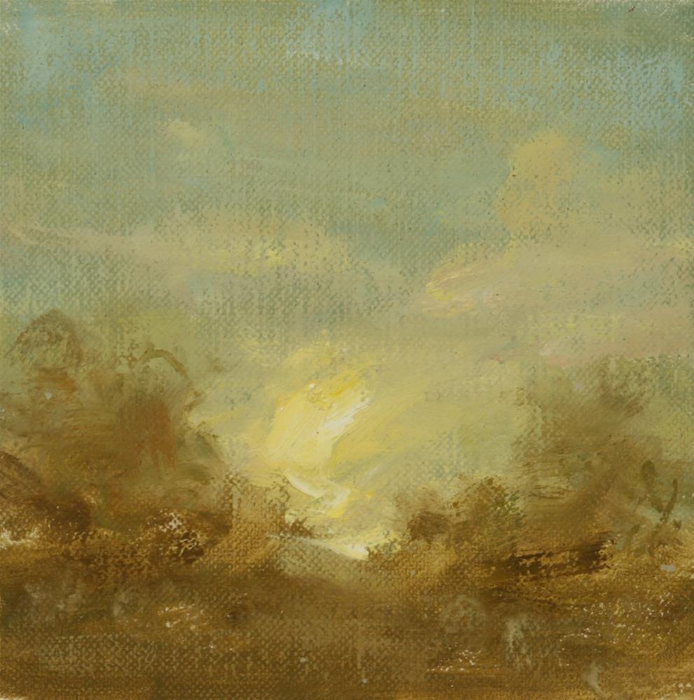 """""""Fall Sunset 08"""" original fine art by Scott Serafica"""