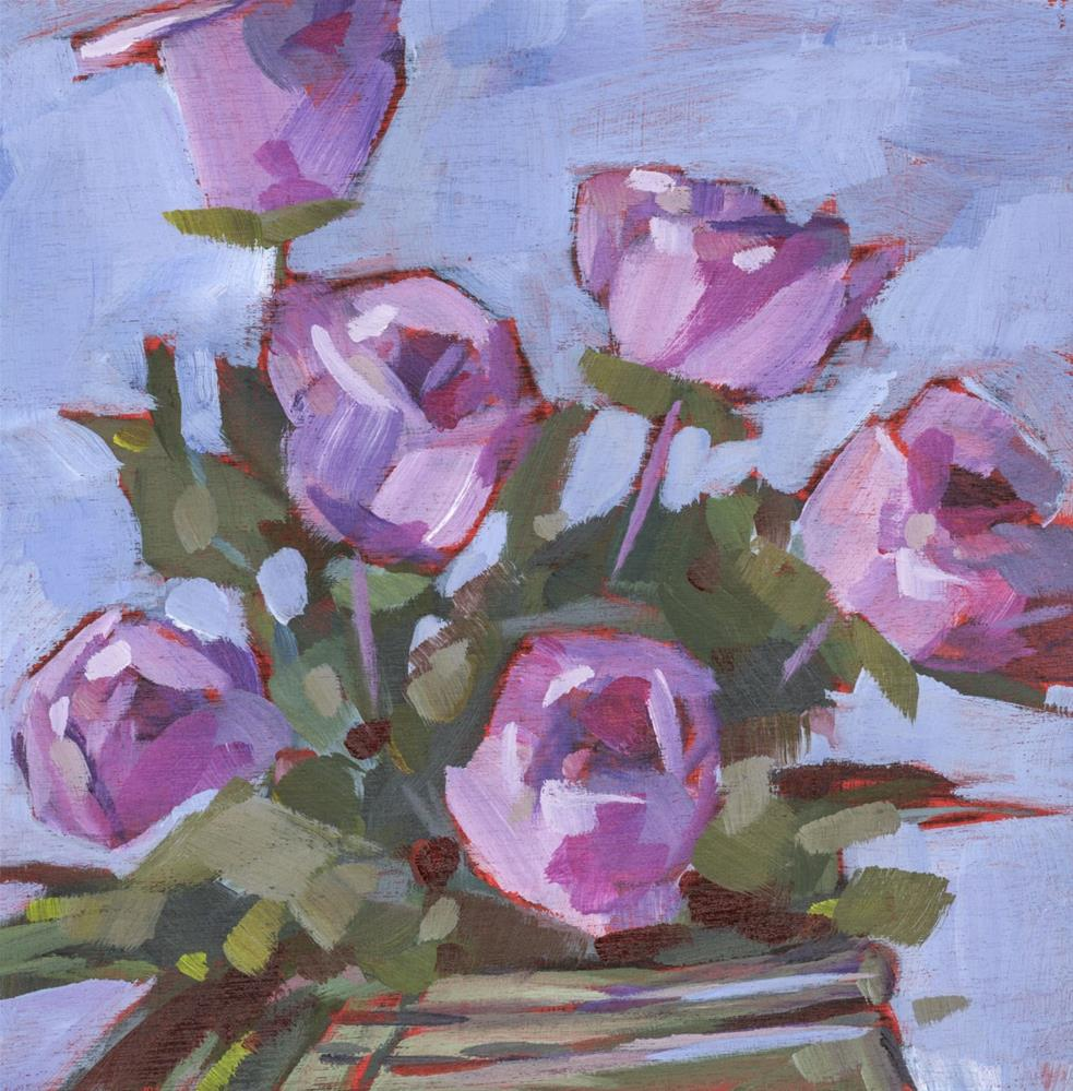 """0674: So, I Thought I Had a Rose Garden"" original fine art by Brian Miller"