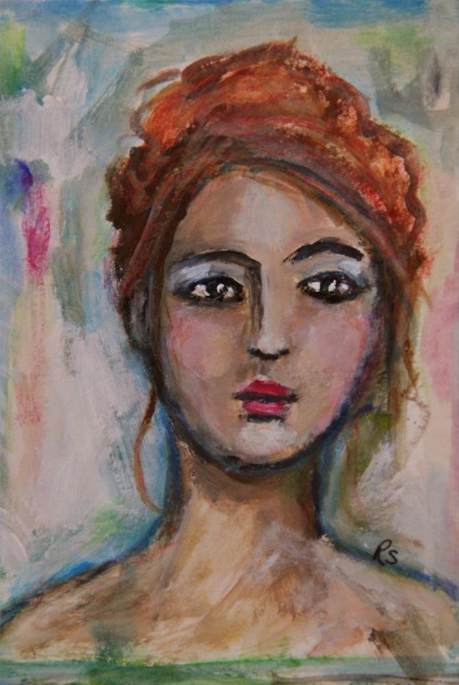 """Vittoria"" original fine art by Roberta Schmidt"