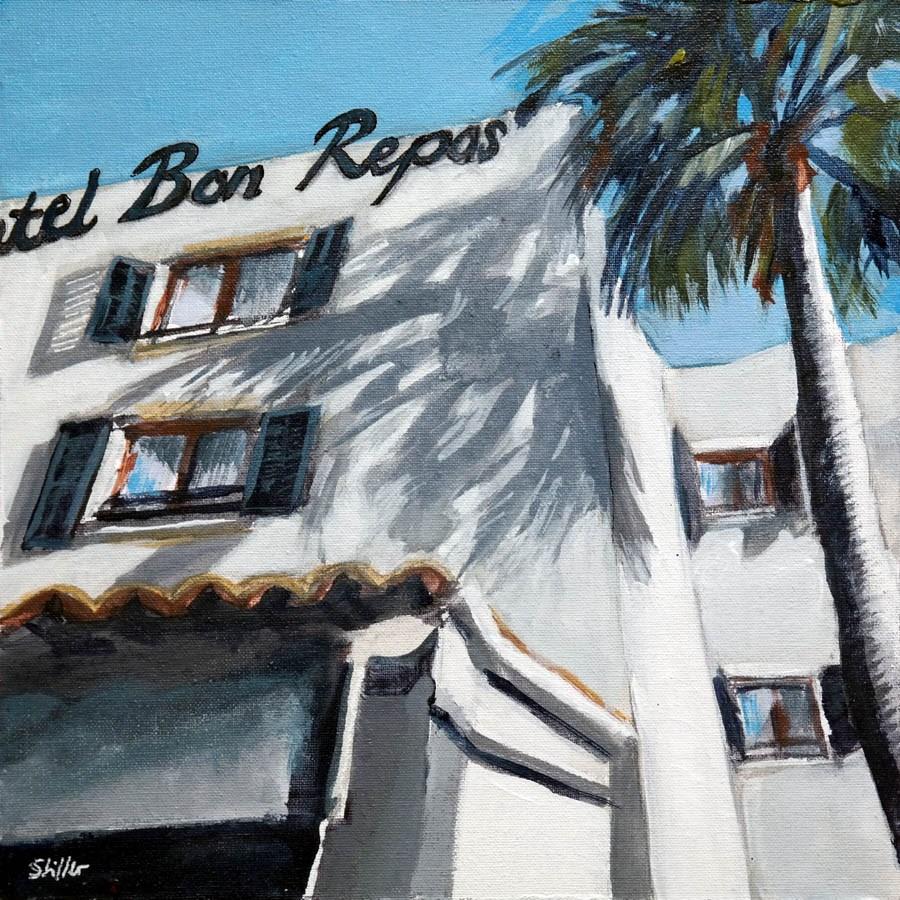"""""""2237 Bon Repos"""" original fine art by Dietmar Stiller"""