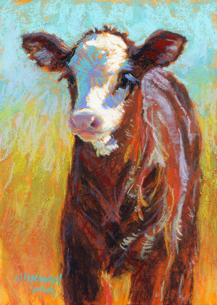 """""""Adzuki"""" original fine art by Rita Kirkman"""