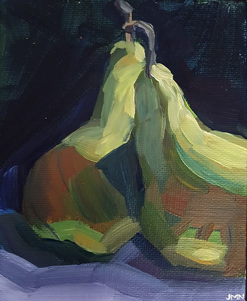 """Sharing Secrets"" original fine art by J M Needham"