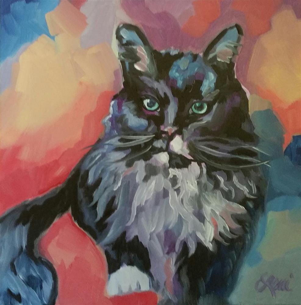 """Color Me Pretty"" original fine art by Leni Tarleton"