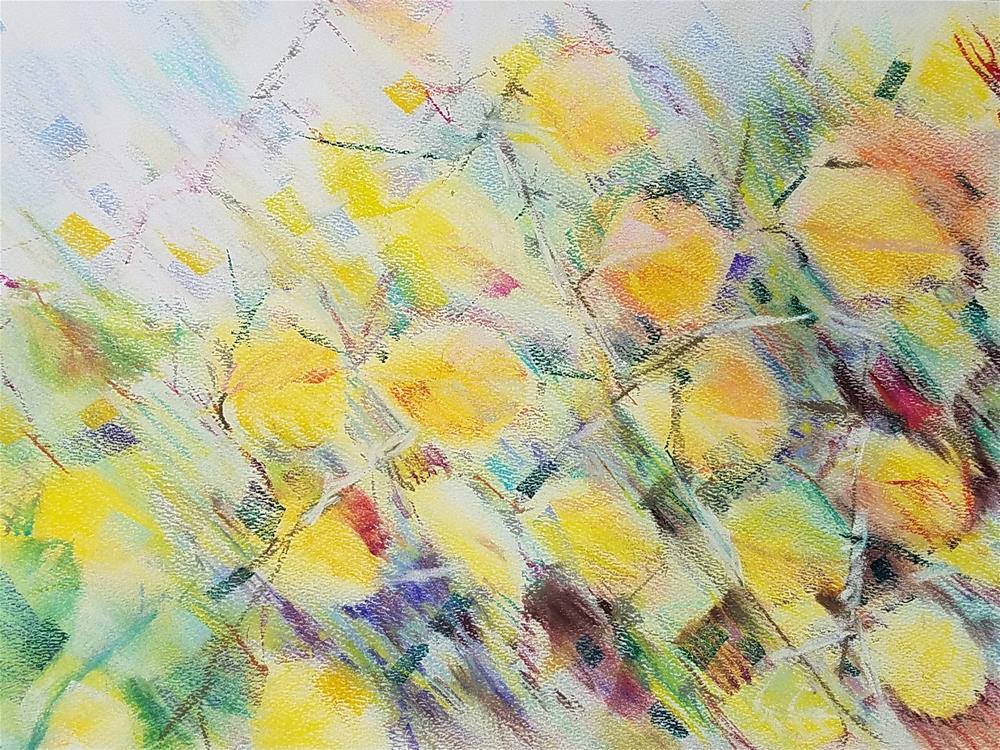 """Aspens"" original fine art by Jean Krueger"