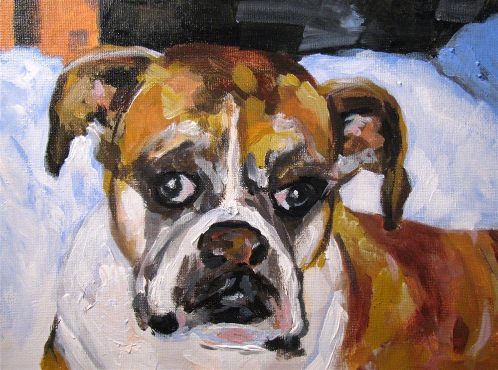 """Lillie"" original fine art by Susan Elizabeth Jones"