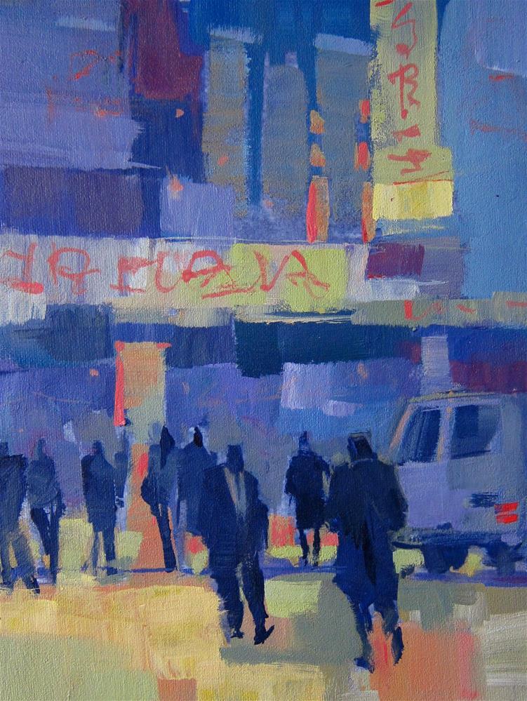 """""""City Shapes"""" original fine art by Patti Mollica"""