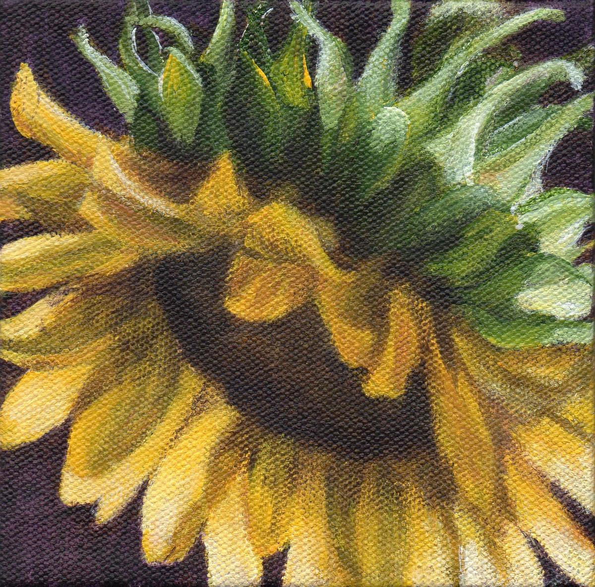 """Sun Dance Series #2 - Autumn Sun"" original fine art by Debbie Shirley"