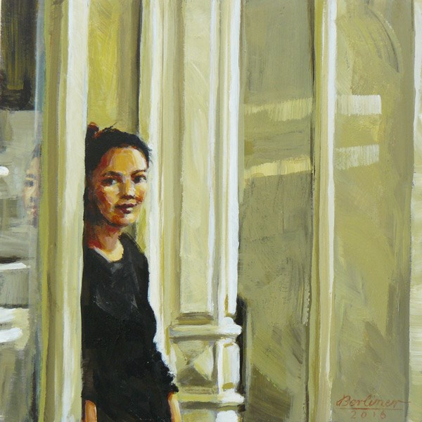 """089 Dreamy"" original fine art by Anja Berliner"