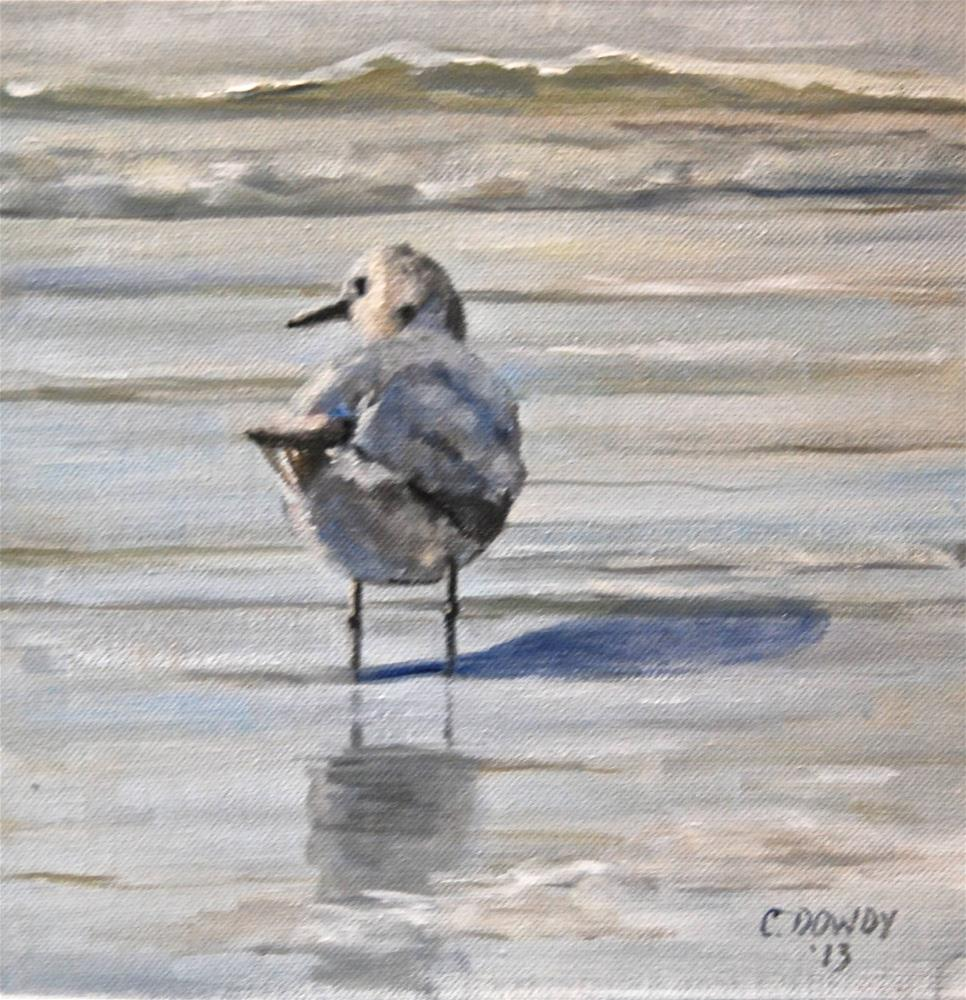 """Deep in Thought"" original fine art by Christina Dowdy"