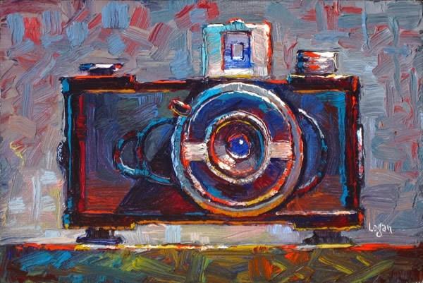 """Little Falcon Camera"" original fine art by Raymond Logan"