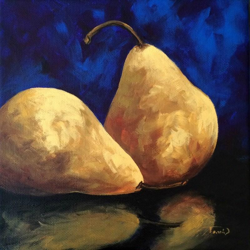"""Pear Reflections III"" original fine art by Torrie Smiley"