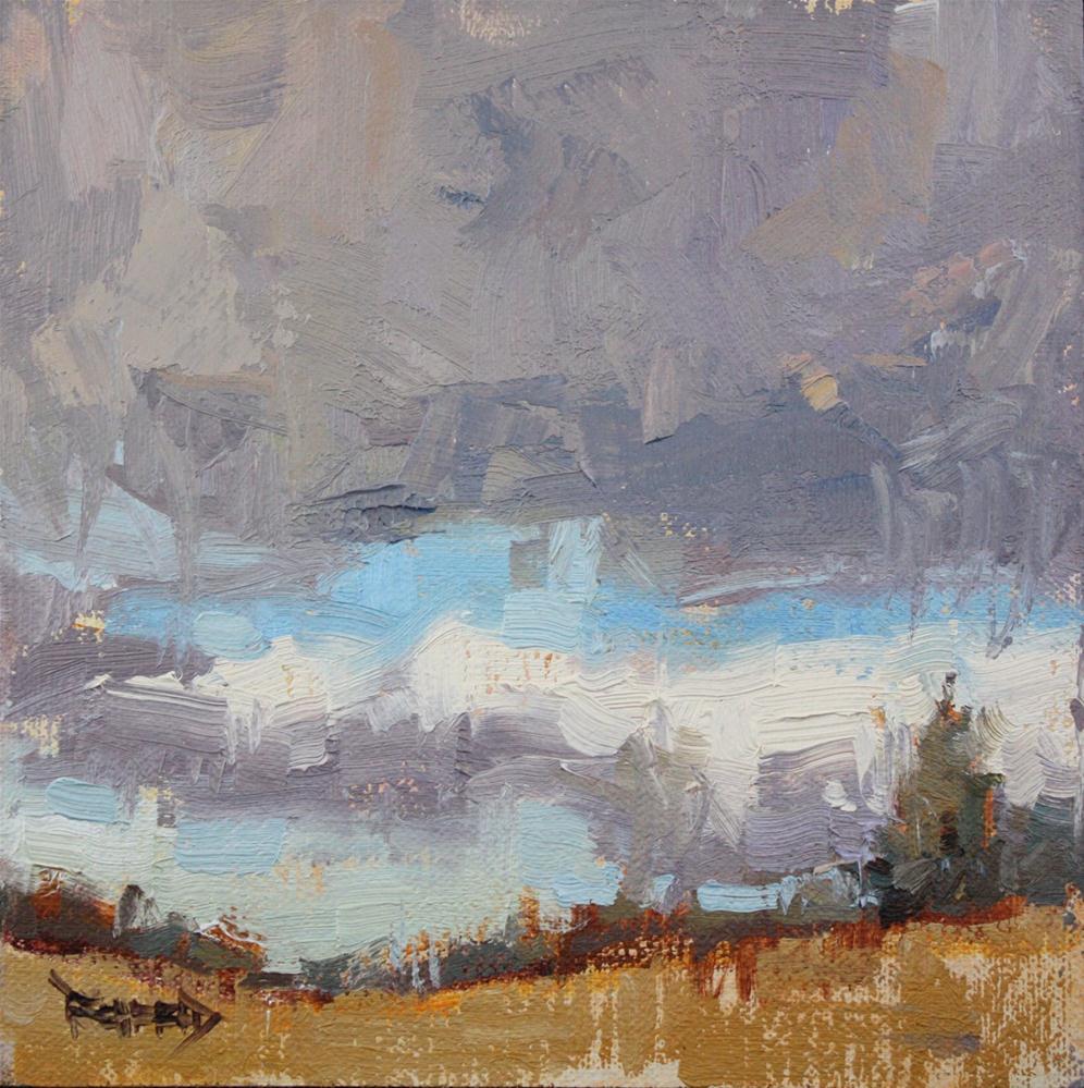 """Shades of Gray in the Oregon High Desert"" original fine art by Cathleen Rehfeld"