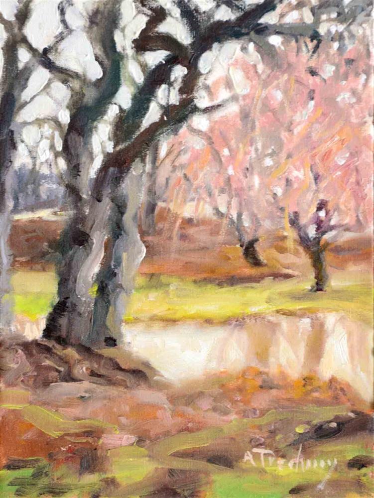 """""""Springtime"""" original fine art by alicia tredway"""