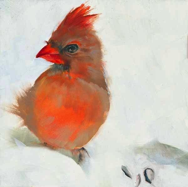 """""""Aloof"""" original fine art by Brenda Ferguson"""