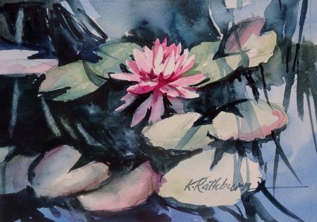 """Kathy's Monet"" original fine art by Kathy Los-Rathburn"