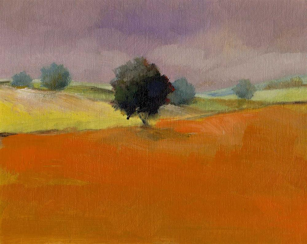 """""""lonely tree"""" original fine art by Mark DeBak"""