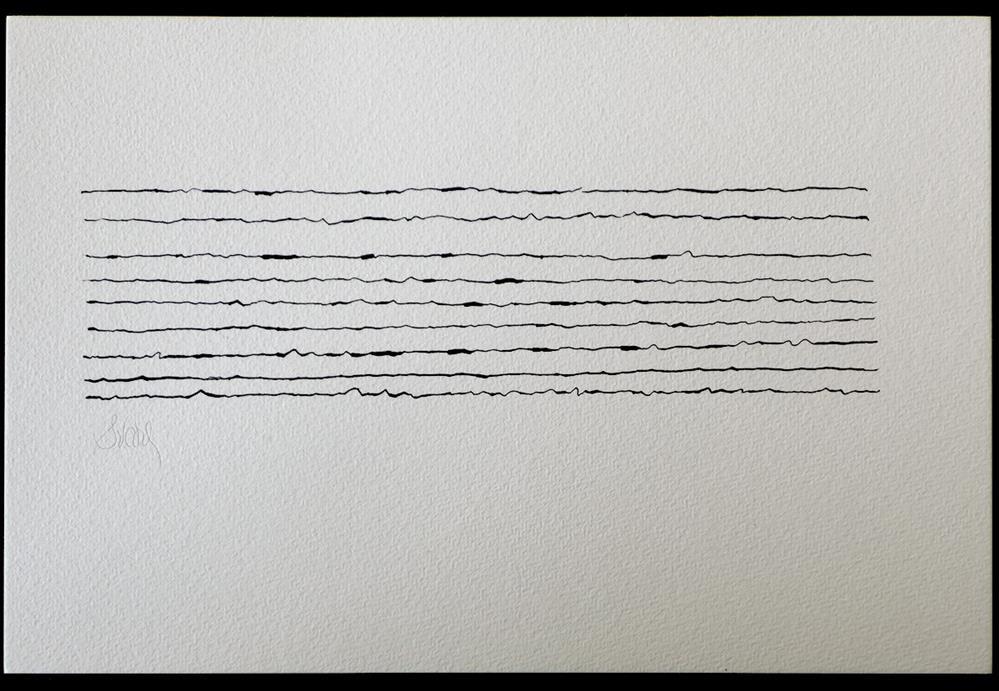 """FACE MOUNTAIN TURN"" original fine art by Craig Svare"